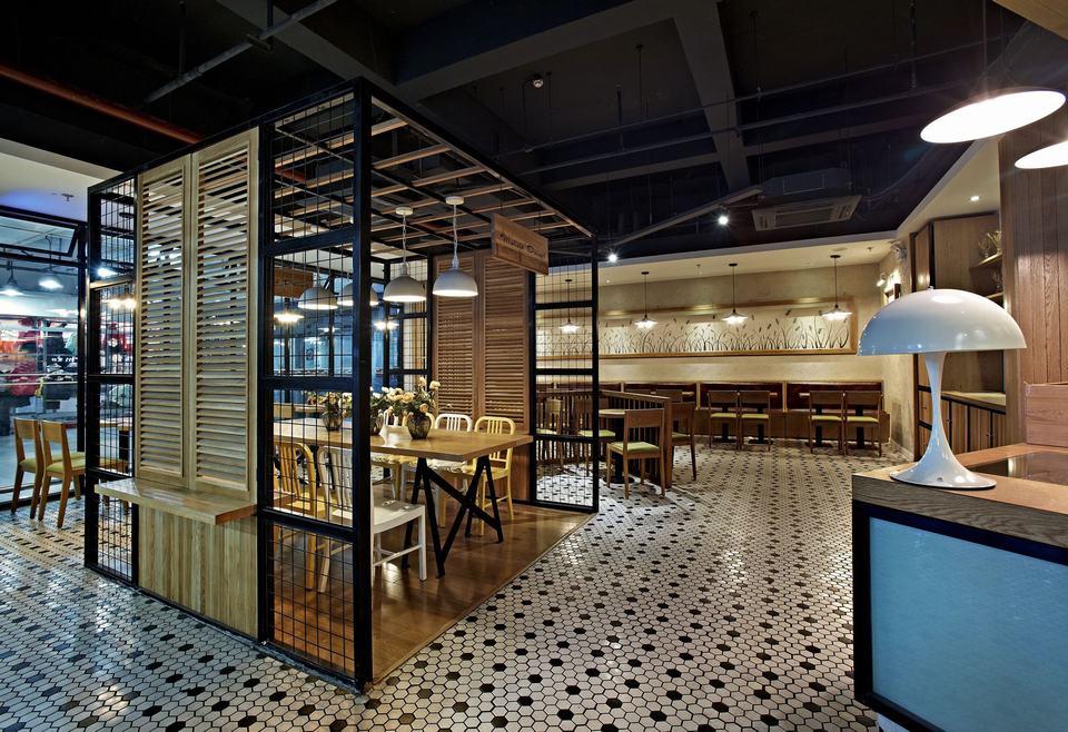 餐饮店装修,小清新文艺风是年轻人的最爱