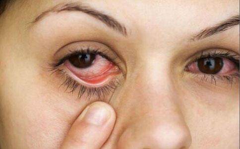 眼球血丝_二,眼睛红血丝