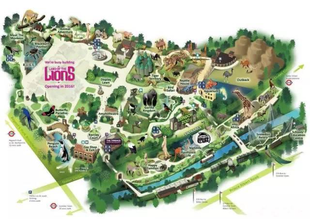 章丘动物园平面图