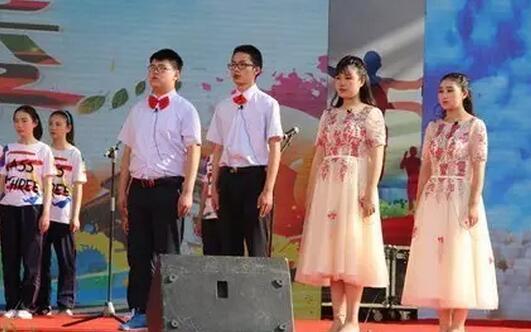 合唱《我的中国心》朗诵 《伟人情中国梦》