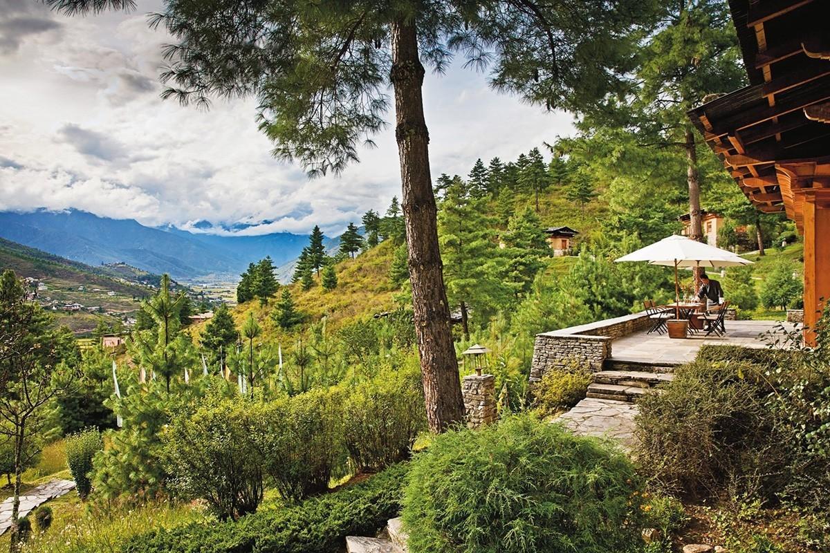 神游不丹5家安缦   深藏在高山里的佛国