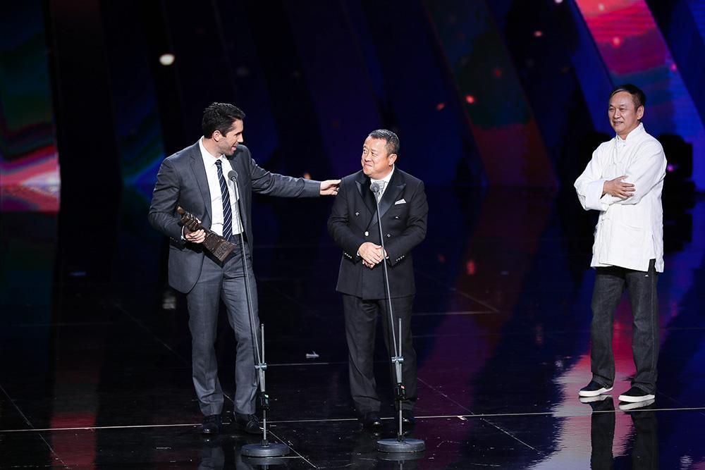 斯科特阿特金斯凭借终极斗士4获得最佳动作男演员奖.