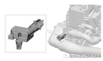 控制电磁阀是带有三个软管接头的三通阀, 此阀将来自压缩机的压缩空气图片