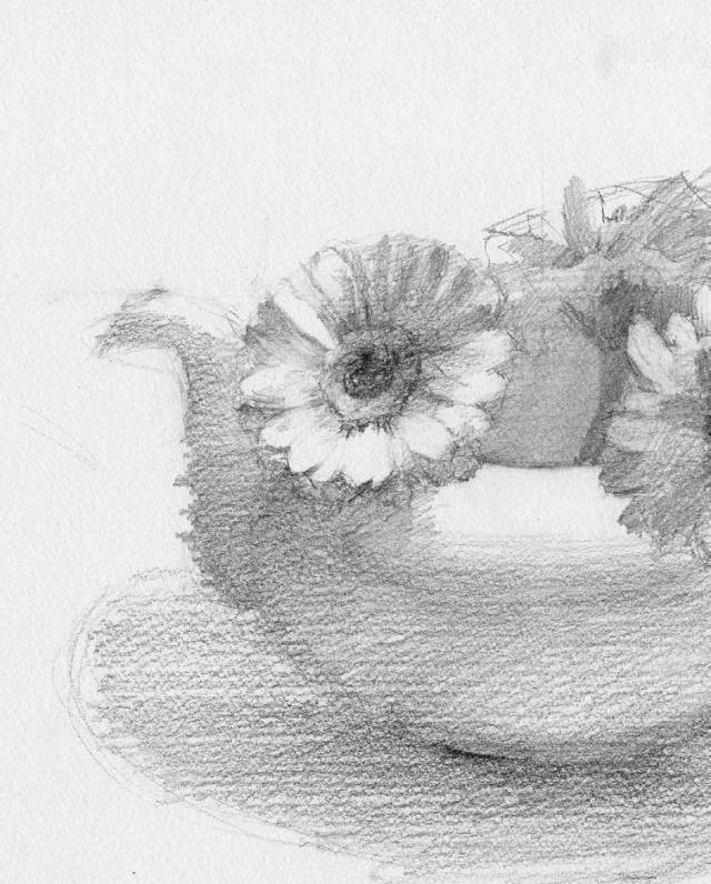 素描 几种质感练习,画起来很简单