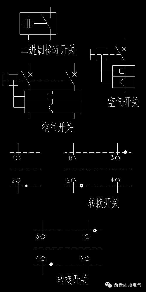 常用cad电气制图标准图形,电气工程师必知!
