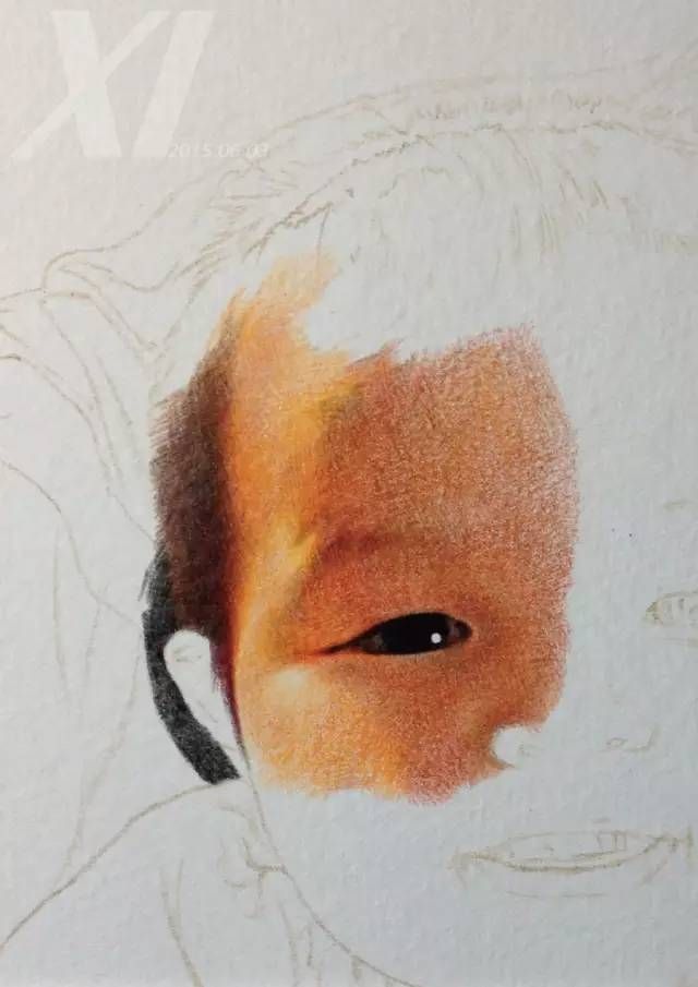 彩铅人物画:暴强彩铅手绘逼真度完爆照片!内附步骤图哦