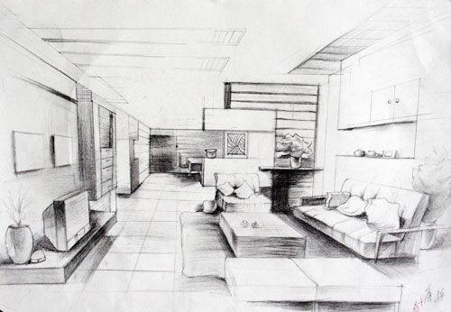 室内设计效果手绘
