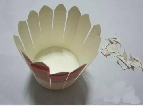 这是一个一次性纸杯手工制作灯笼的案例,上面就是纸杯做成的灯笼效果图片