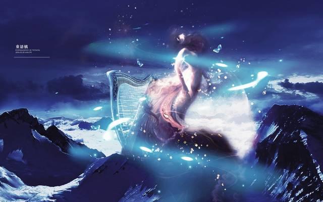 炉石版《童话镇》歌词,暗过云雨歌词杠看了沉默沉静沉静发麻麻看了流泪