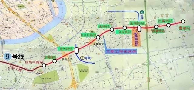 太棒啦!!有了这3条地铁从市区往返浦东、青浦将更方便!