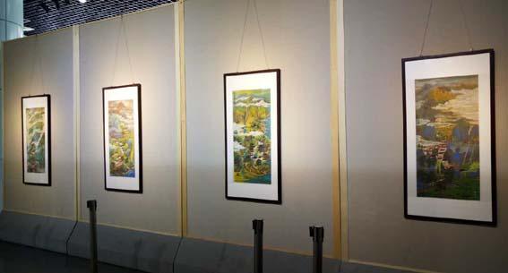 """""""清夏 南风""""艺术展在厦门同安区文化馆盛大开幕"""