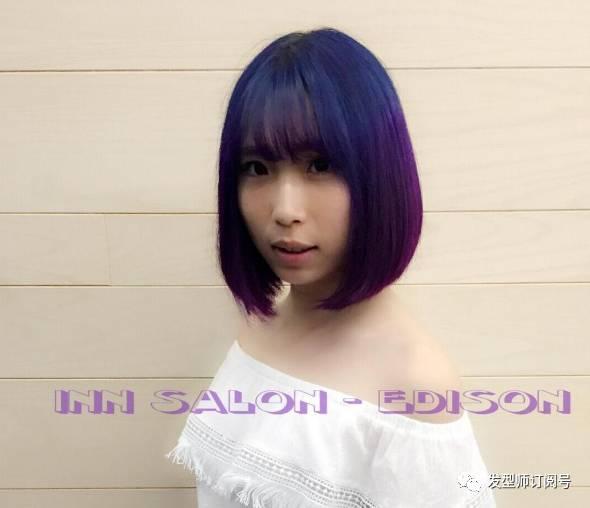 这款发型最搭齐刘海!图片