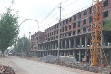 平舆县城市总体规划-河南平舆 难以制止的违建