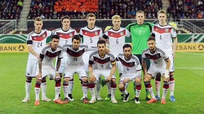 英格兰U21 VS 德国U21