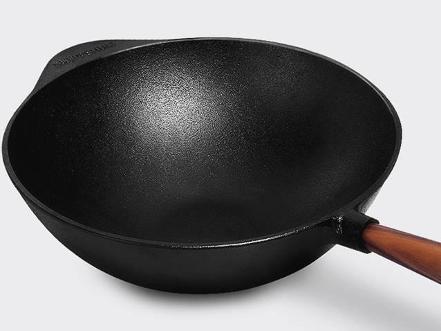 瑞典人手工制作的铸铁锅,做菜特别好吃!