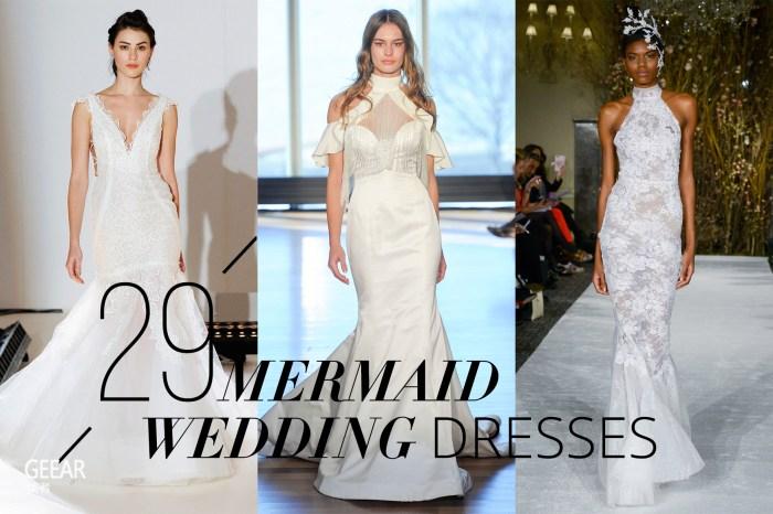 G‧潮™  集大气和时尚于一身!29 款任何身形的女生也能驾驭的微信收藏表情突然没了鱼尾婚纱!