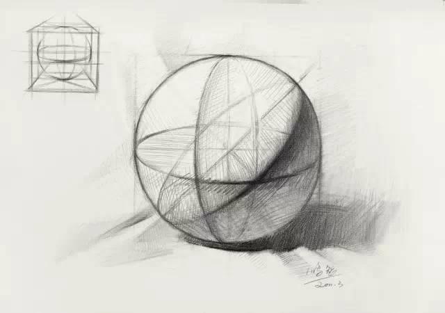 素描几何体结构画不好 这篇帮你搞定图片