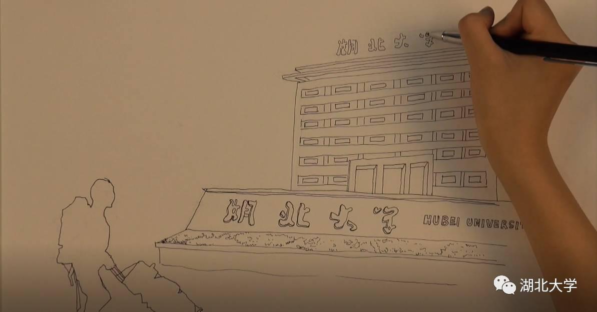 湖大才团手绘校园视频走红,染湿了多少人的眼眶!