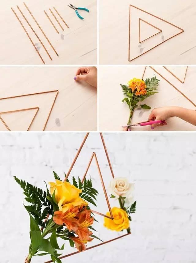 知道了几何造型的制作原理,我们可以变通出其他的一些造型,比如双三角