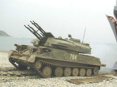 """活跃了60年的苏联自行高炮:ZSU234对现代坦克的杀伤"""""""