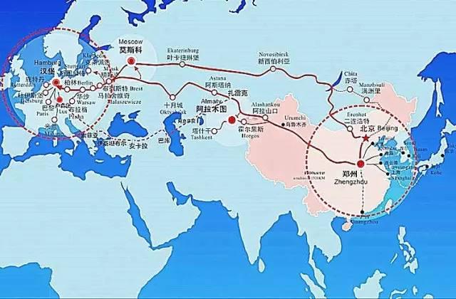新丝路 解析中欧班列 郑州 的 成长密码