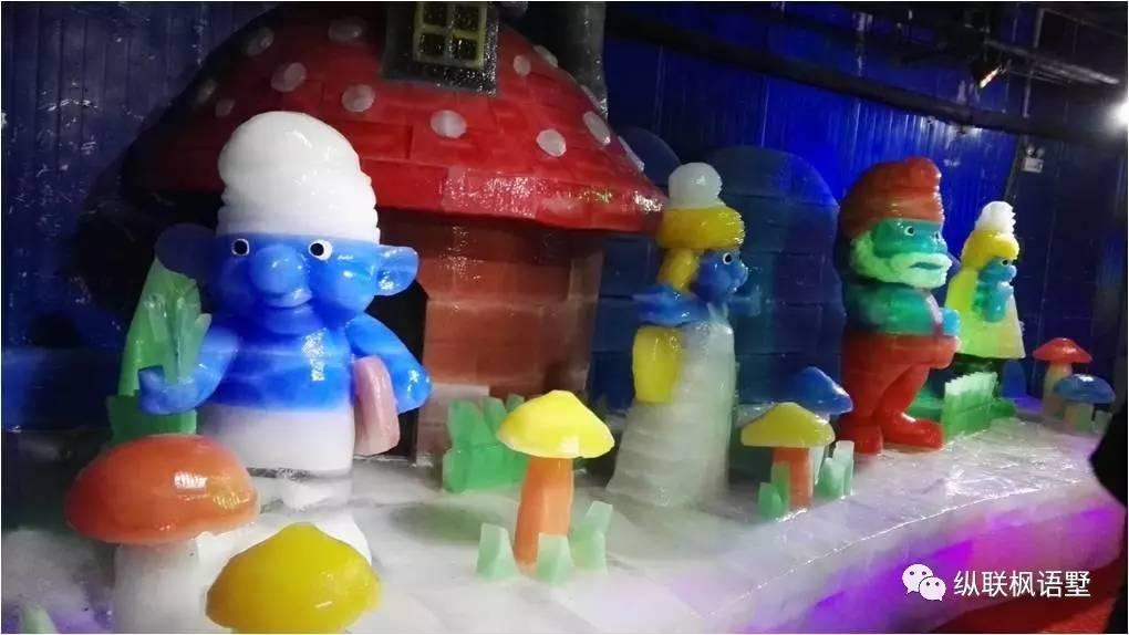 夏天下雪啦!枫语墅情迷嘉年华冰爽来袭,尽情玩类似别墅冰雪图片