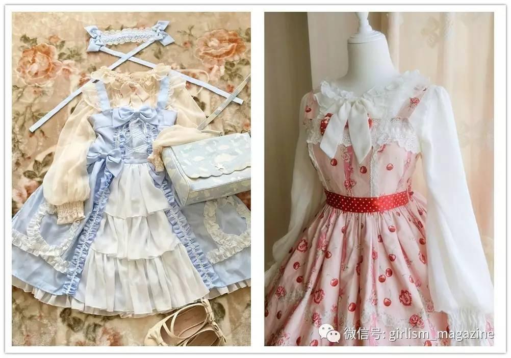 lolita这样穿|衬衫搭配jsk的四个法则图片