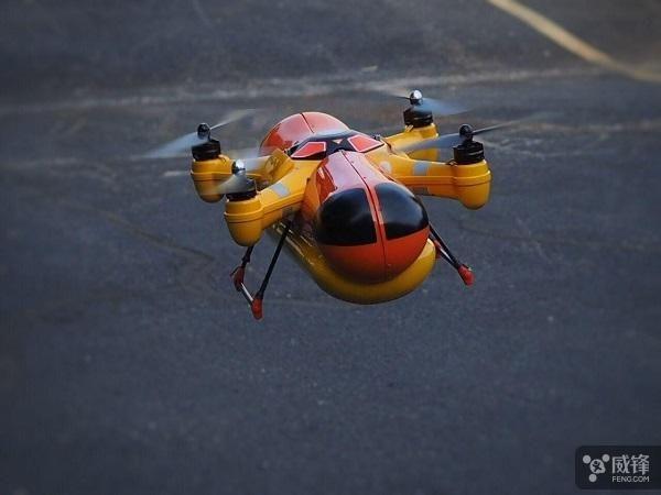 美国风靡热狗品牌即将推出无人机空投送货服务