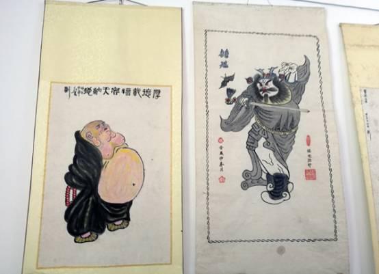刘老的绘画作品   刘老的百宝箱   传统文化艺术代表着民族情感,是源