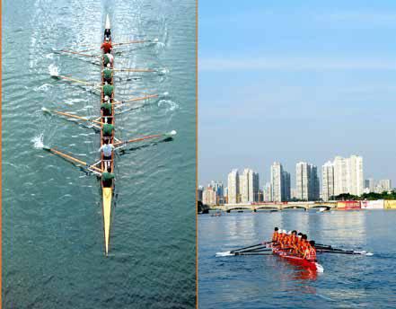 """运河田径""""我们还在策划通州区成绩杯的皮划艇比赛,成为力求打造北京市体育传统校正文图片"""