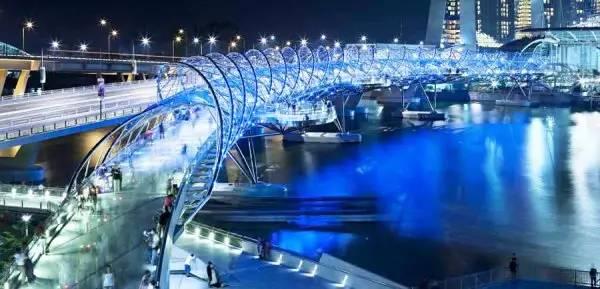 螺旋桥平面图