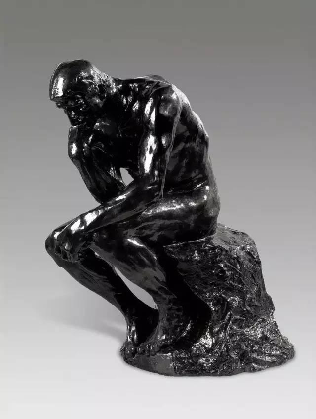 思想者铸铜雕塑