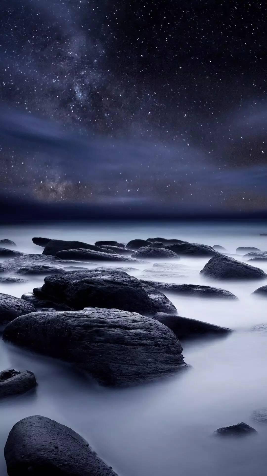 星空风景高清 手机壁纸图片