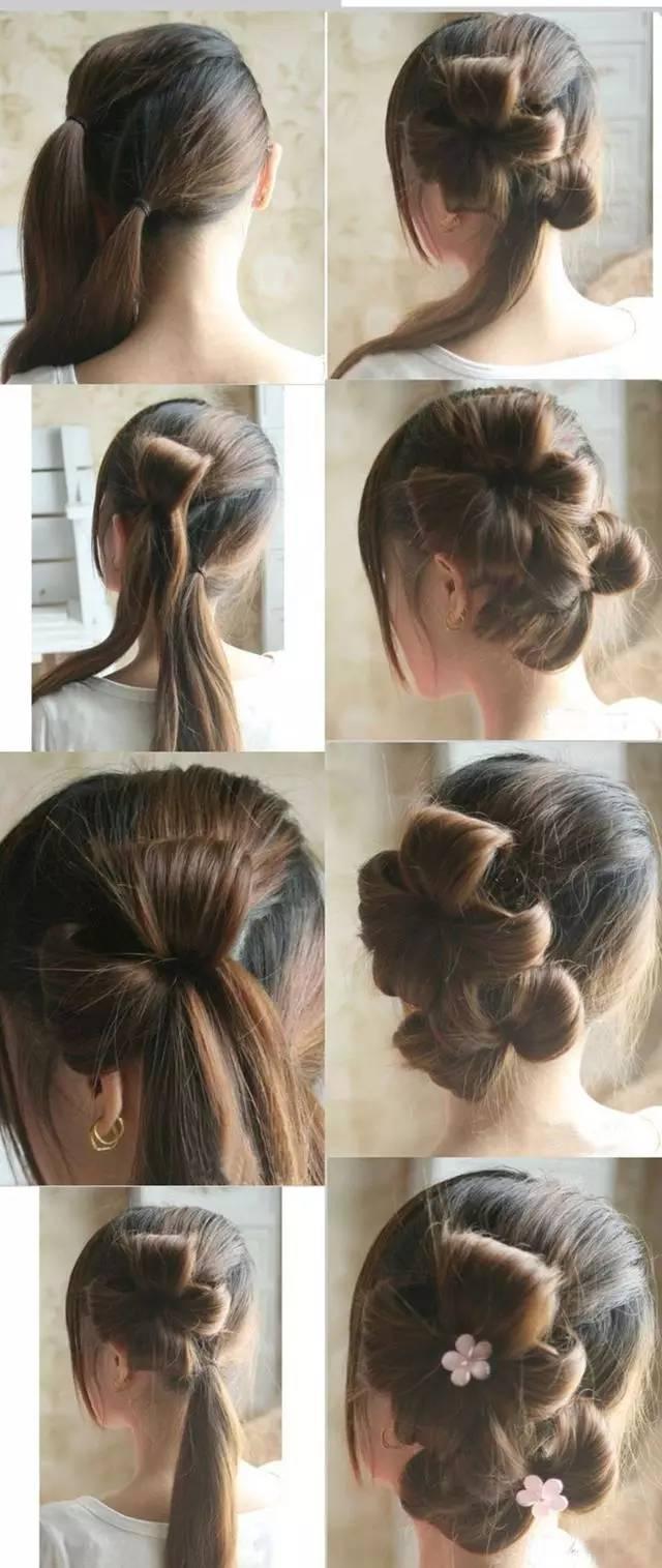女士短发包包头发型