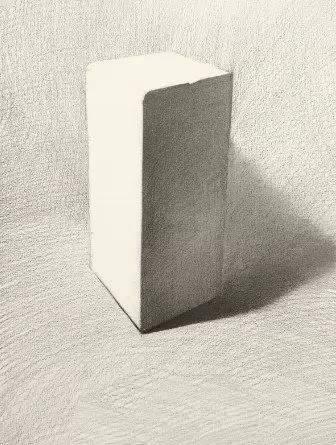 素描基础教程 长方体的画法图片