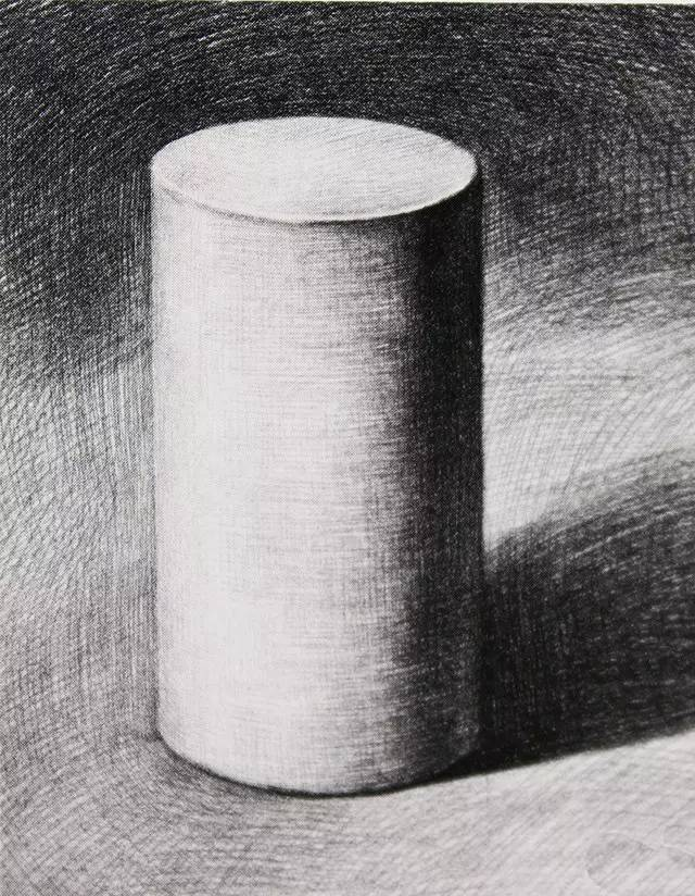 程 几何体明暗圆柱体画法图片