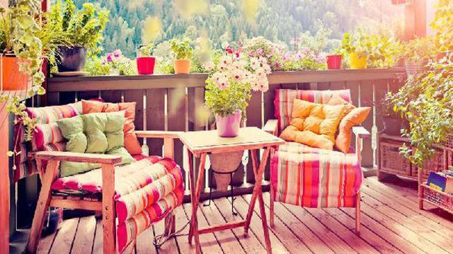 风情万种的阳台花园,扑面而来的浪漫气息