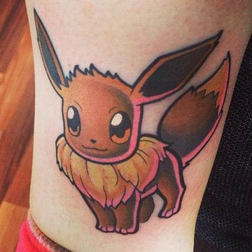 宠物小精灵纹身