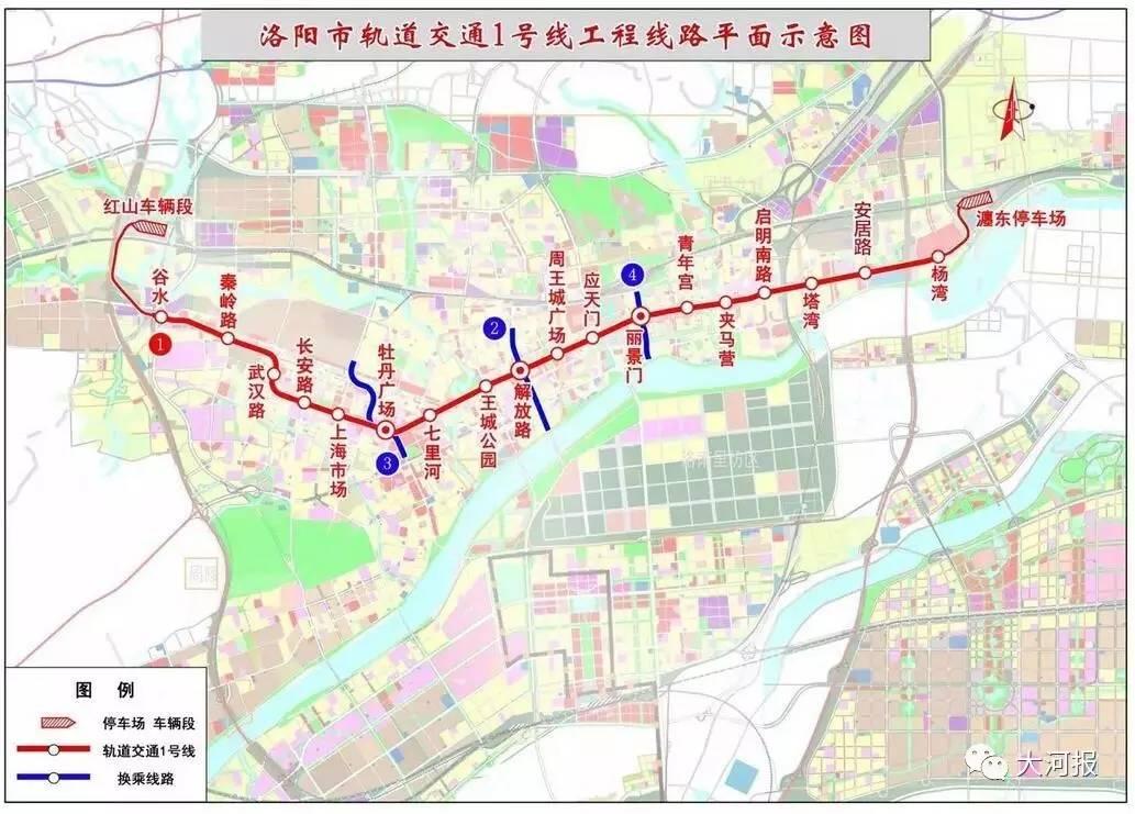 东至中州东路延长线,贯穿涧西区,西工区,老城区,瀍河区和洛龙区白马图片