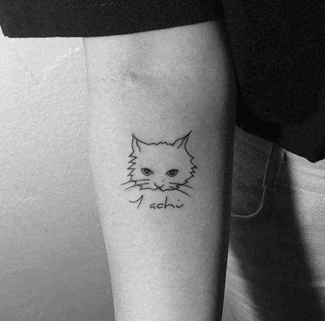 种草| ins上敲流行的时髦纹身,就属这些图案最最freestyle(怕疼也能