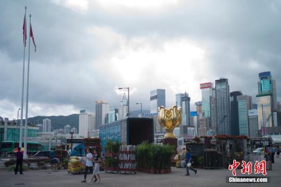 """香港回归20年深圳海关验放供港民生品4459亿元图"""""""