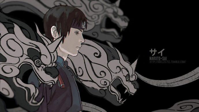 火影忍者插画 这个人物系列太赞了 画师fisher903