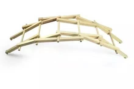 木棍做的手工制作小桥