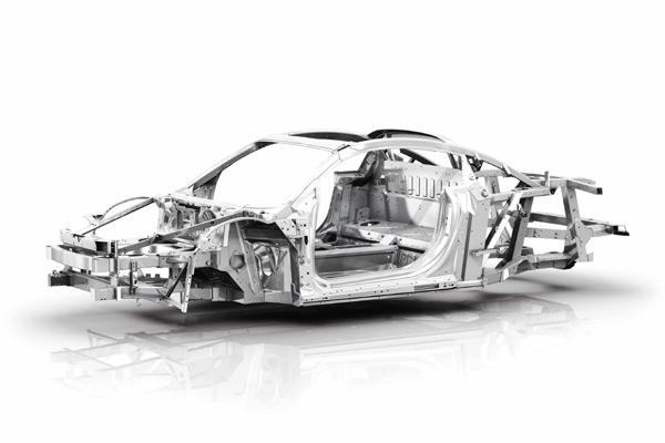也就是俗称的汽车大梁,一般由两根纵梁以及几根横梁组成的钢架结构