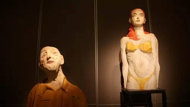抽象人物当代树脂雕塑艺术品
