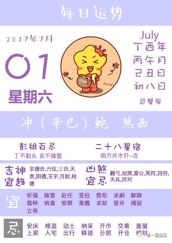 """日运  701 射手座注意身体 巨蟹座工作顺利"""""""