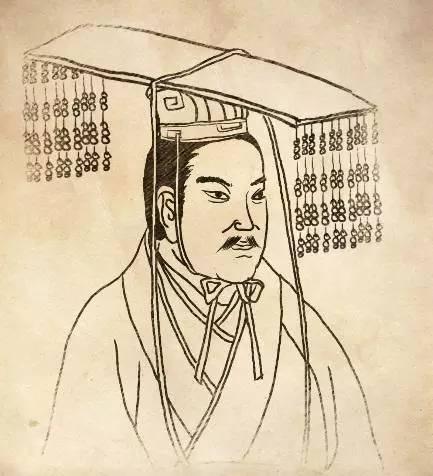汉朝读书生手绘头像