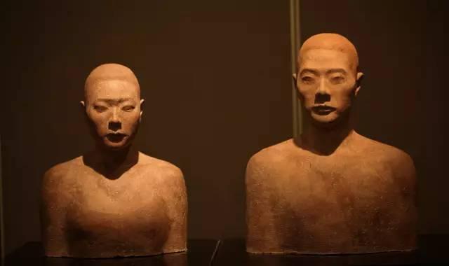 男女人物肖像树脂雕塑艺术品