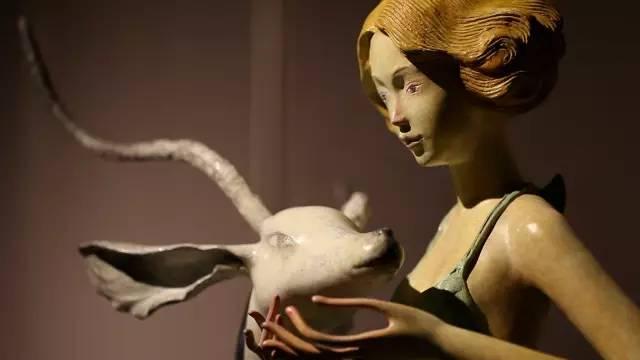 抽象女性当代树脂雕塑艺术品