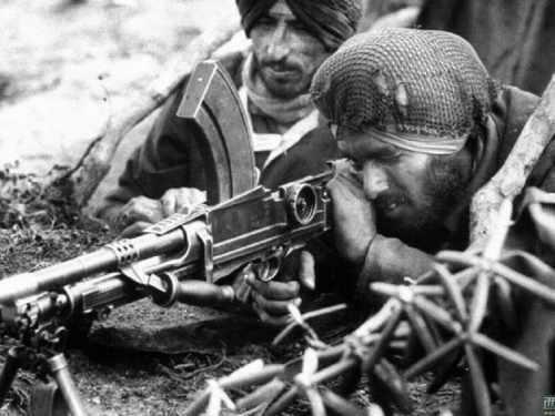 """十幅照片告诉你,不听两位二战名将忠告,印度当年输得"""""""